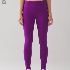 Wunder under pant 3 BR size 6 violet purple